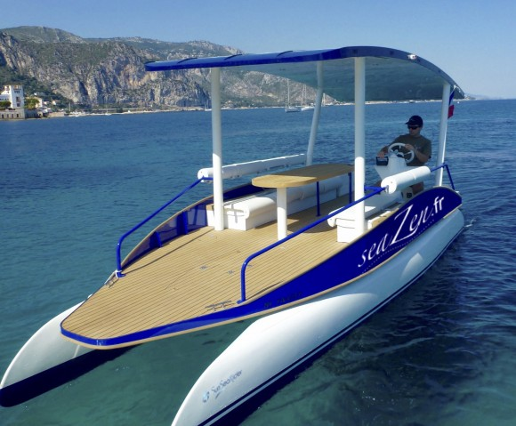 Promenade en bateau solaire - SeaZen