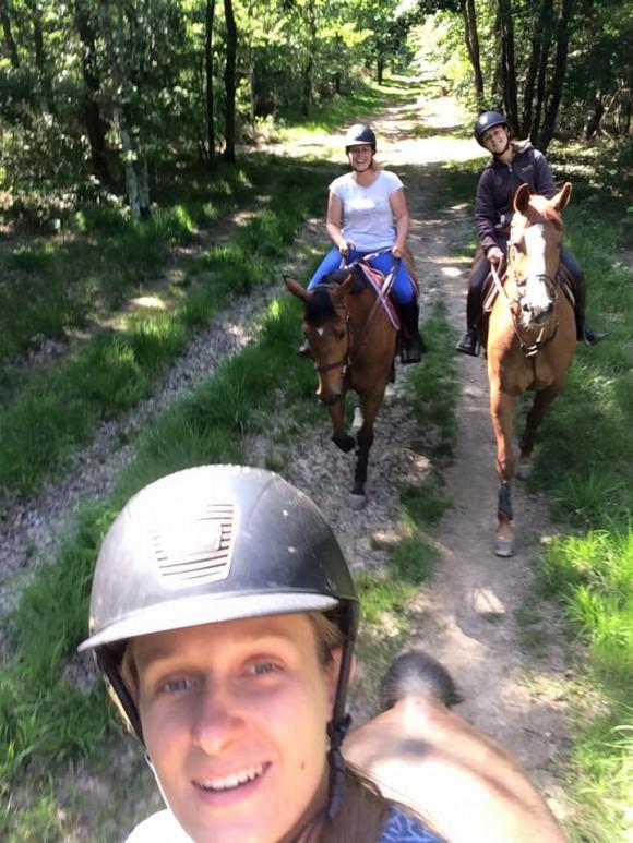 Balade à cheval tous niveaux - forêt de Bouconne