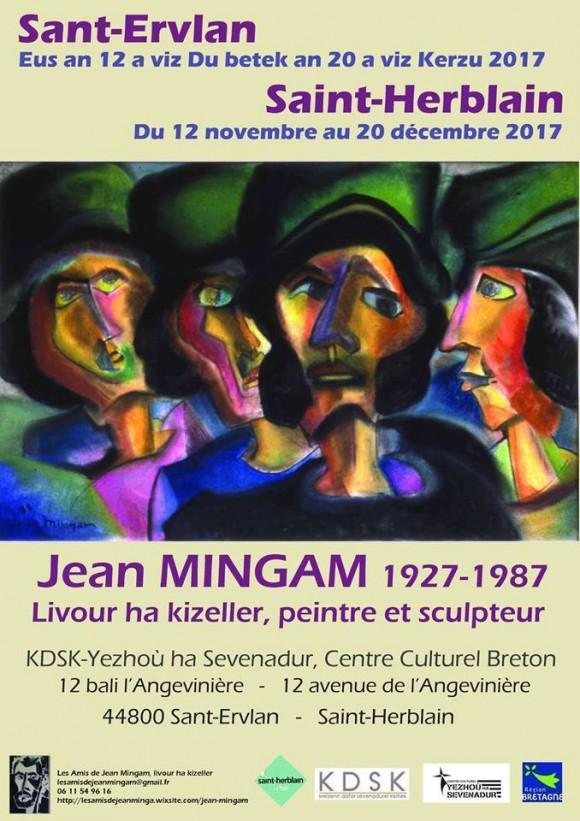 EXPO Jean Mingam — Livour ha kizeller, peintre et sculpteur