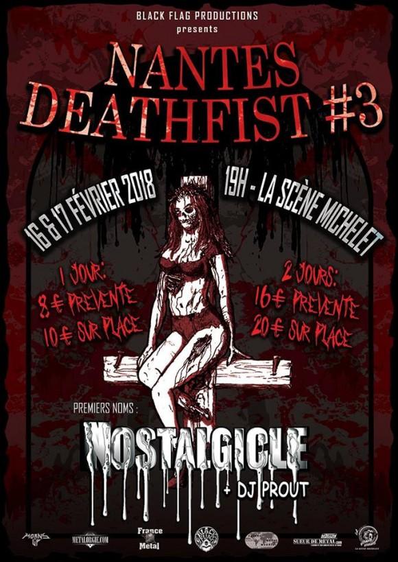 FESTIVAL Deathfist Nantes