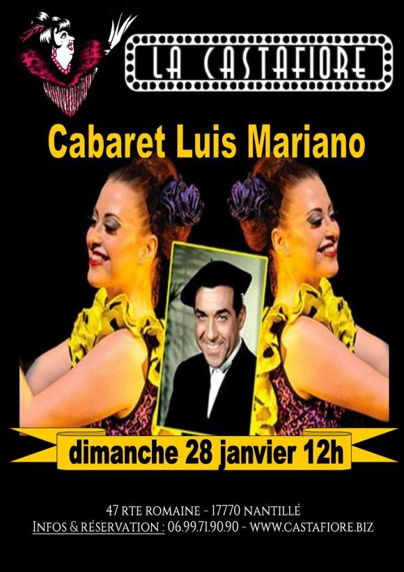 Déjeuner Spectacle Cabaret Luis Mariano