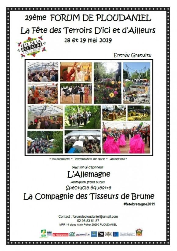 29ème Forum de Ploudaniel Fête des Terroirs d'Ici et d'Ailleurs