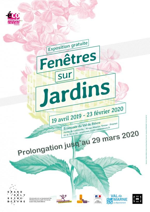 """Exposition """"Fenêtres sur jardins"""" - Derniers jours !"""
