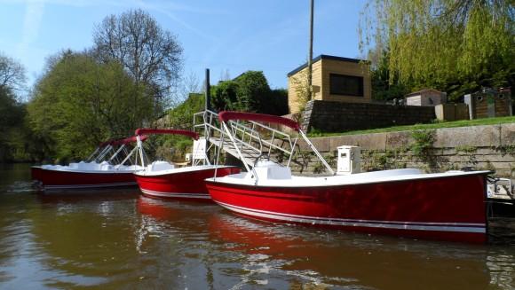 L'Echappée Fluviale, location de bateaux électriques