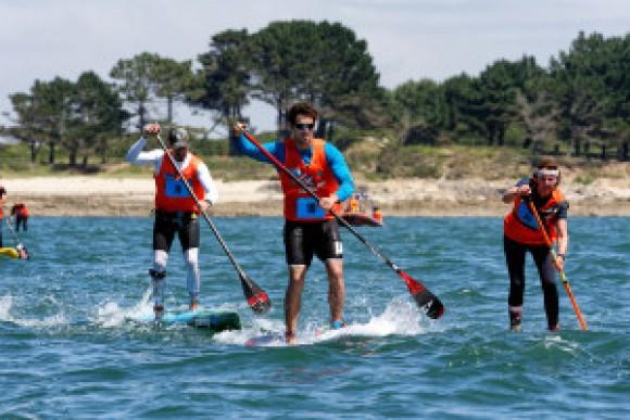 la 7ème édition du SNSM Morbihan Paddle Trophy Ouest-France !