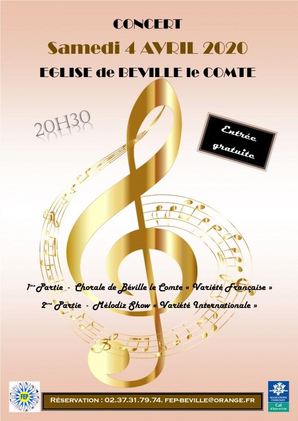 Concert de variété française et internationale