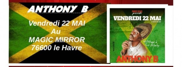 Concert Anthony B Hommage à Bob Marley And The Wailers