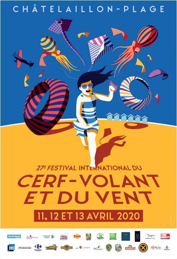 Festival international du cerf-volant et du vent de Châtelaillon-Plage 2020