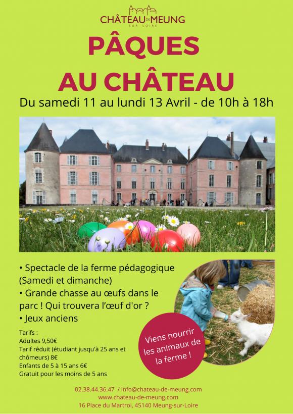 Pâques au château de Meung-sur-Loire