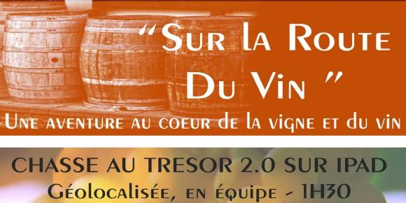 """Escape extérieur à Gevrey : """"Sur la Route du Vin"""""""