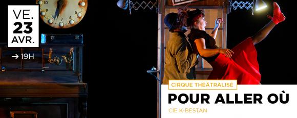 POUR ALLER OÙ ? / Cirque théâtralisé - Cie K-Bestan