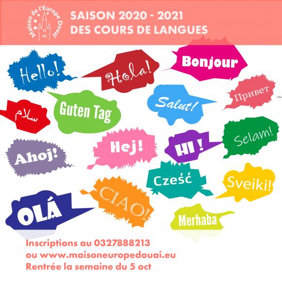 Cours de langues: anglais, espagnol, alleman, italien, polonais, russe