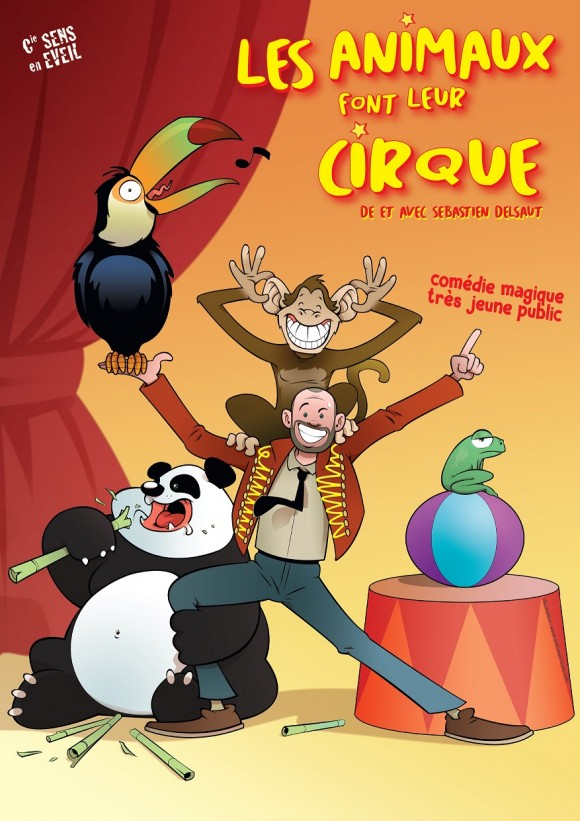 Les animaux font leur cirque