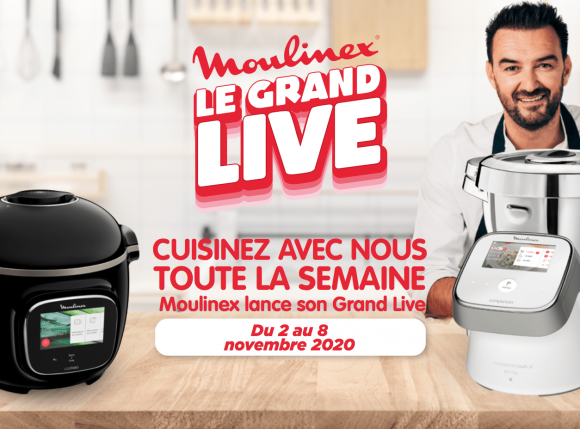 Le Grand Live Moulinex