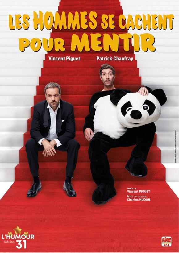 LES HOMMES SE CACHENT POUR MENTIR en spectacle à Nantes pour le 31 dec