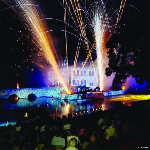 40ème Festival de la Vézère (Ensemble Sirba et feux d'artifices)