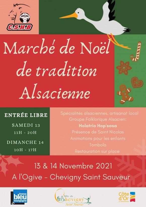 Marché de Noël de tradition Alsacienne