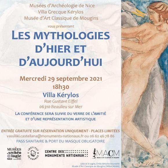 Conférence Les Mythologies