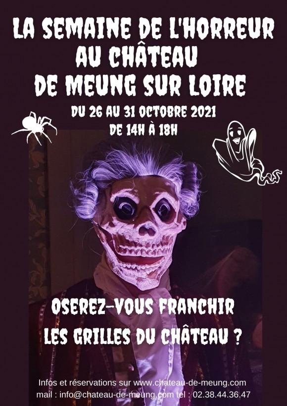 Halloween au Château de Meung sur Loire