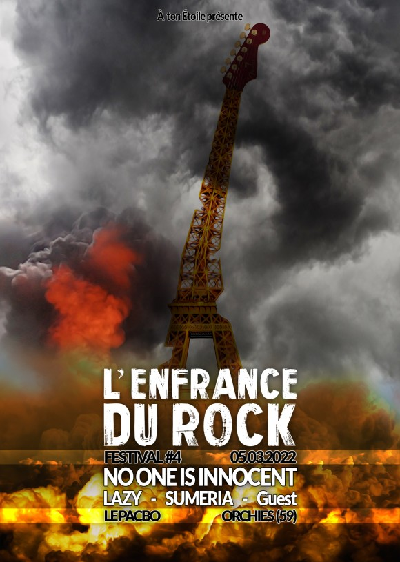 L'ENFRANCE DU ROCK 4