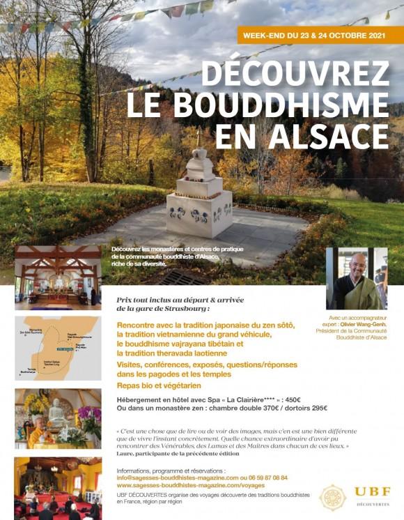 Partez à la découverte du bouddhisme en Alsace